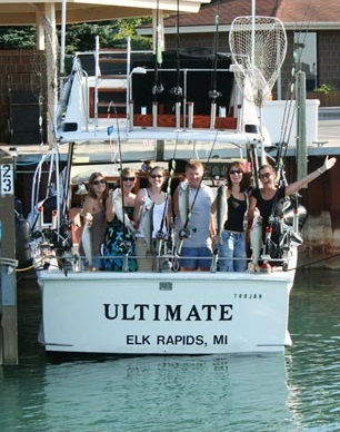 Ultimate charters for Traverse city fishing charters